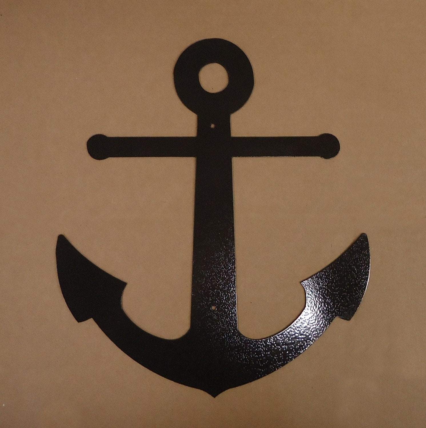 Anchor Wall Decor Metal : Anchor metal art free usa shipping by knobcreekmetalarts
