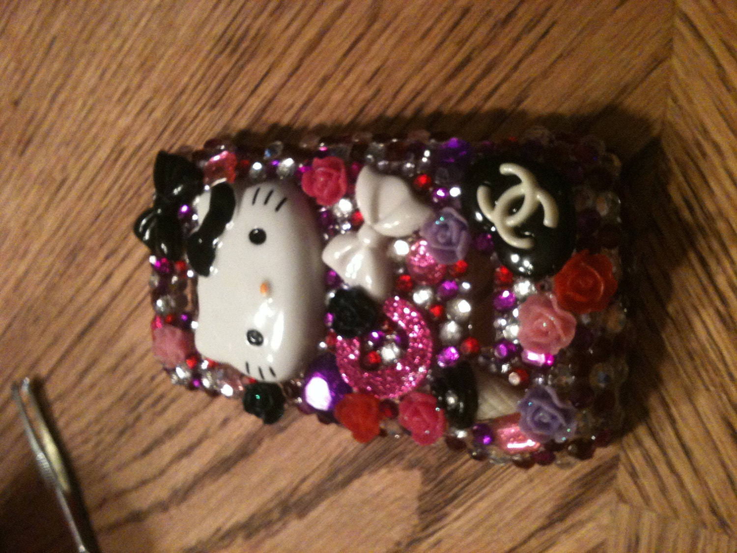 Custom Made HELLO KITTY phone cases(Any phone type)