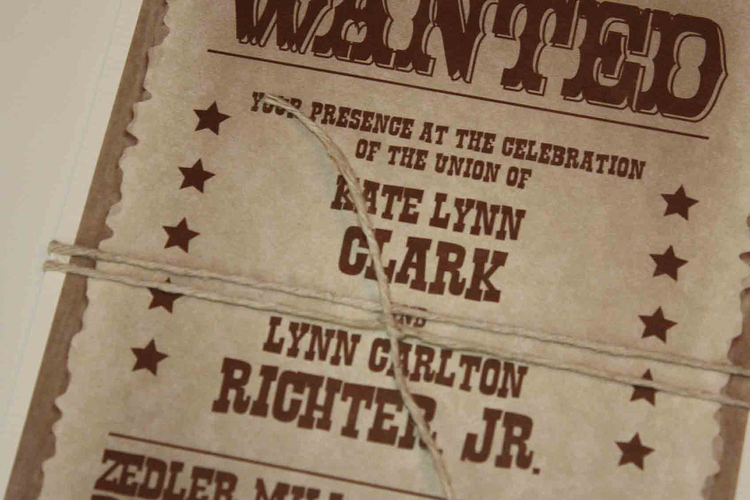 Doc10181500 Wanted Invitation Wild West Wanted Poster – Wanted Invitation