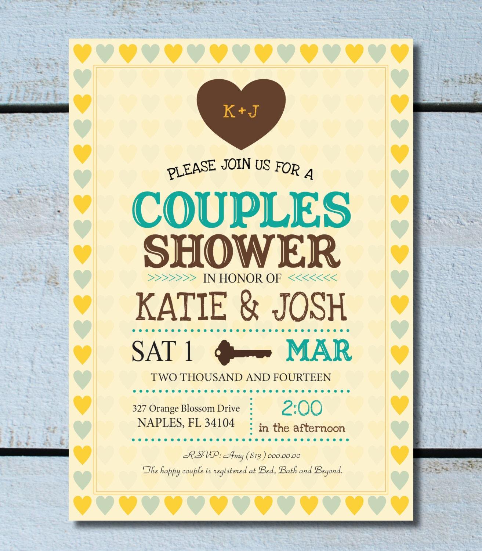 Vintage Wedding Shower Couples Shower Jack by ...