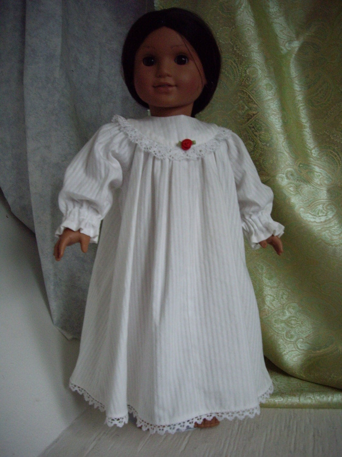 American Girl Doll 100 Cottton Old By Exquisitelyupcycled