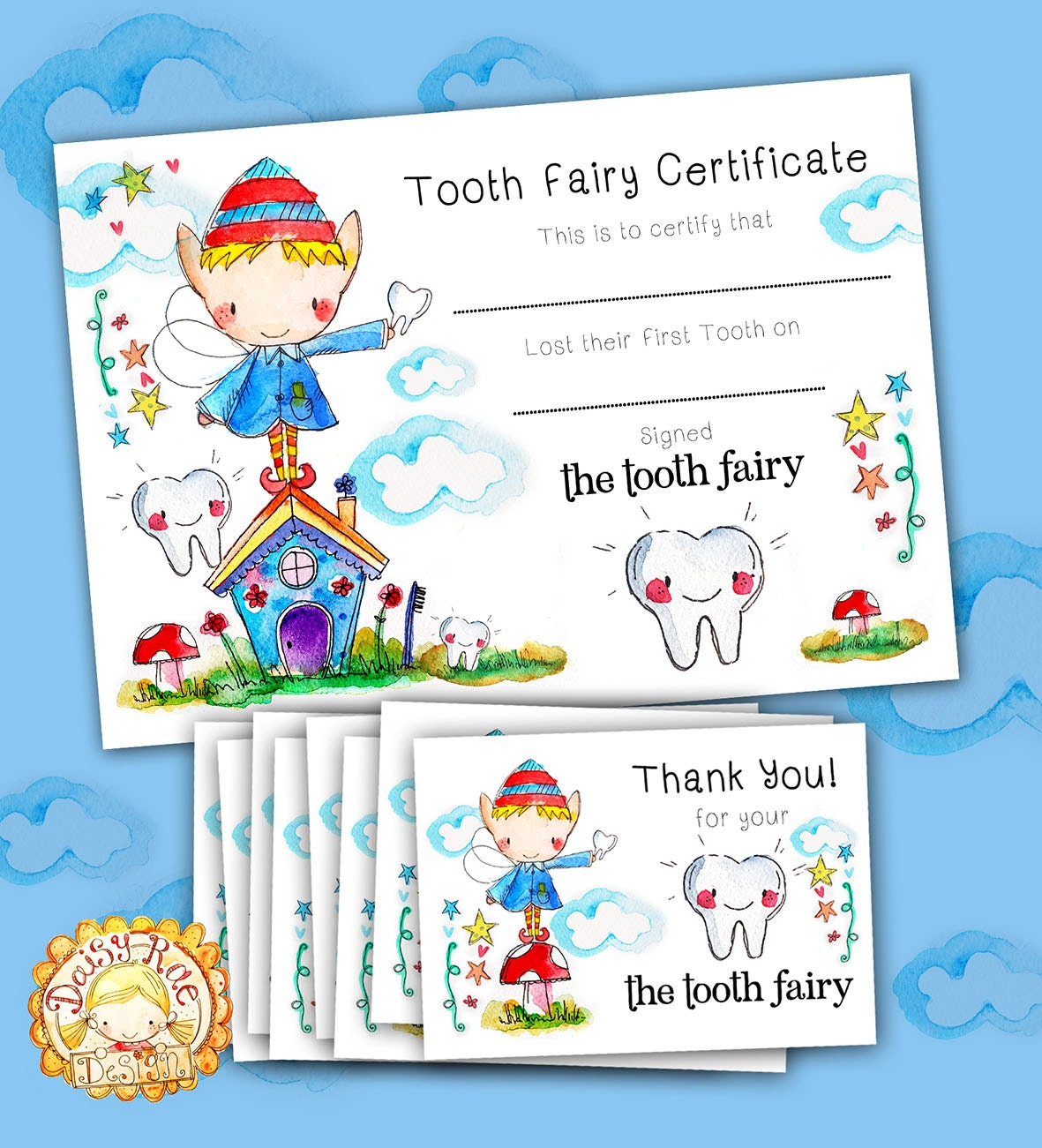 Free Tooth Fairy Printables  Tooth Fairy Booth