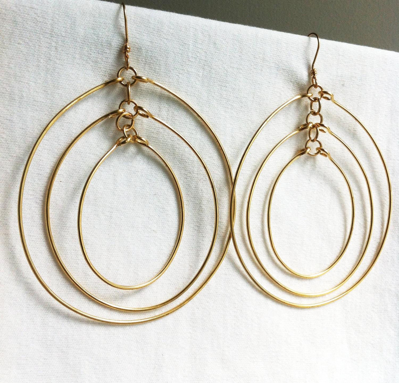 WIND CHIMES - Multi-Hoop Earrings