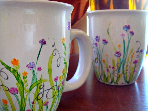 Etsy your place to buy and sell all things handmade for Coffee painting ideas