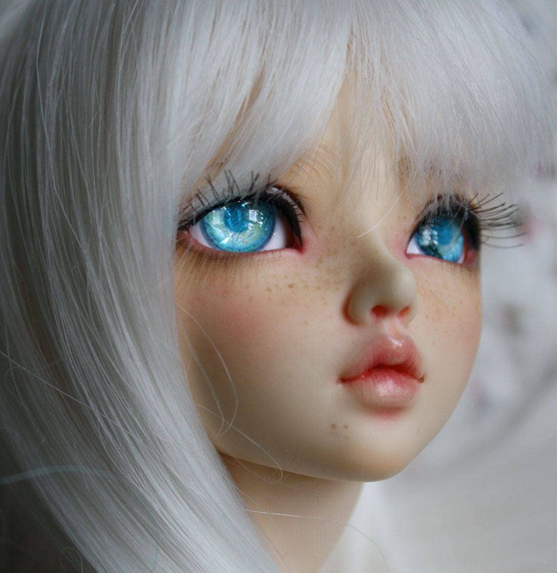 BJD eyes Doll eyes Hand made available in 12141618202224mm Nordic Ice made to order