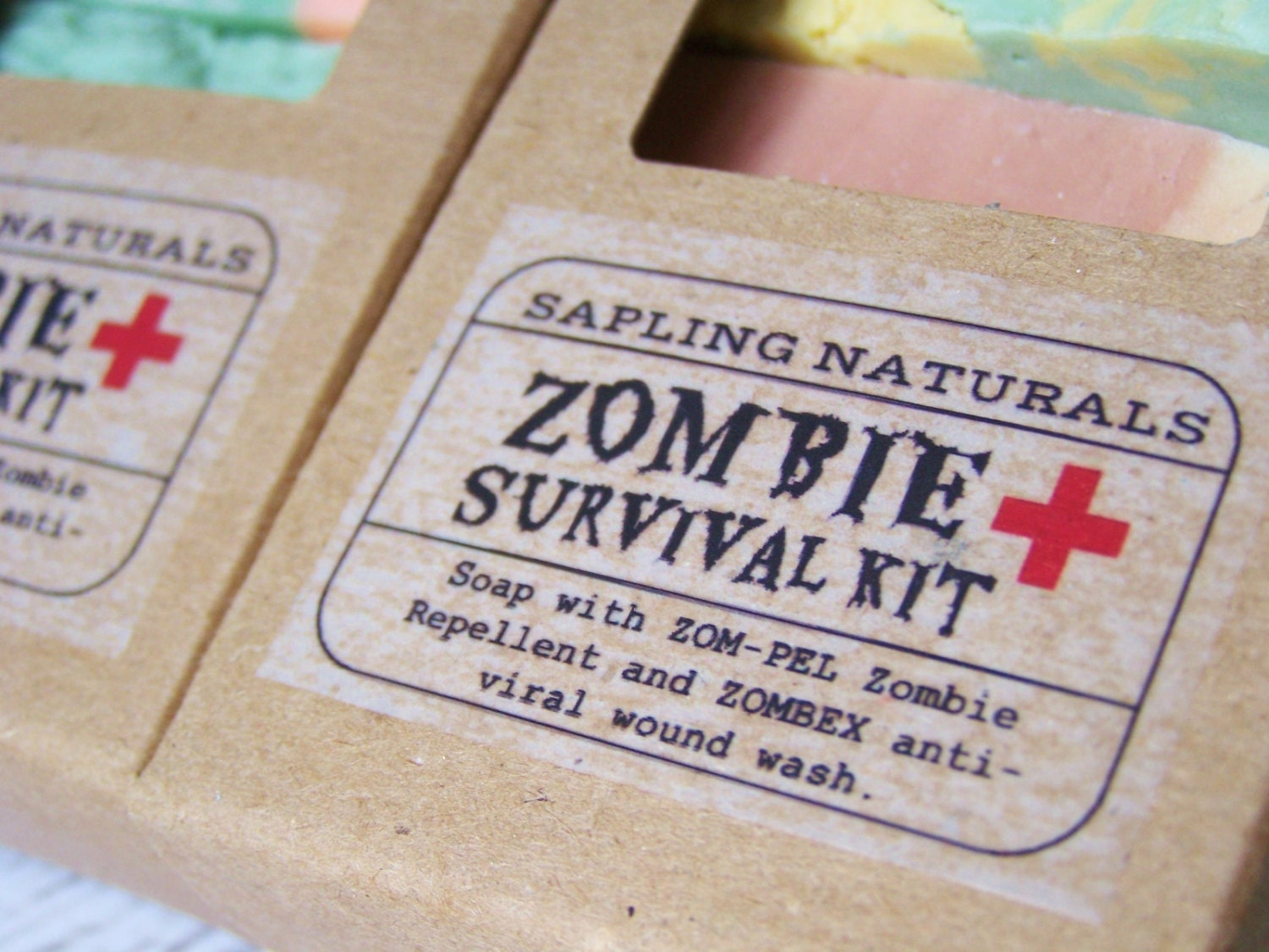 Zombie Survival Kit - travel size - great gift for men, nerds, survivalists - saplingnaturals