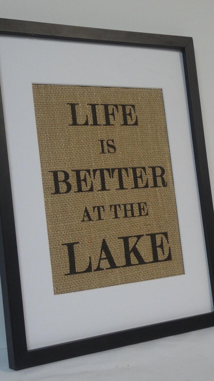 Lake House Вход на природный коттедж мешковины декора дома пляже (№ 1)