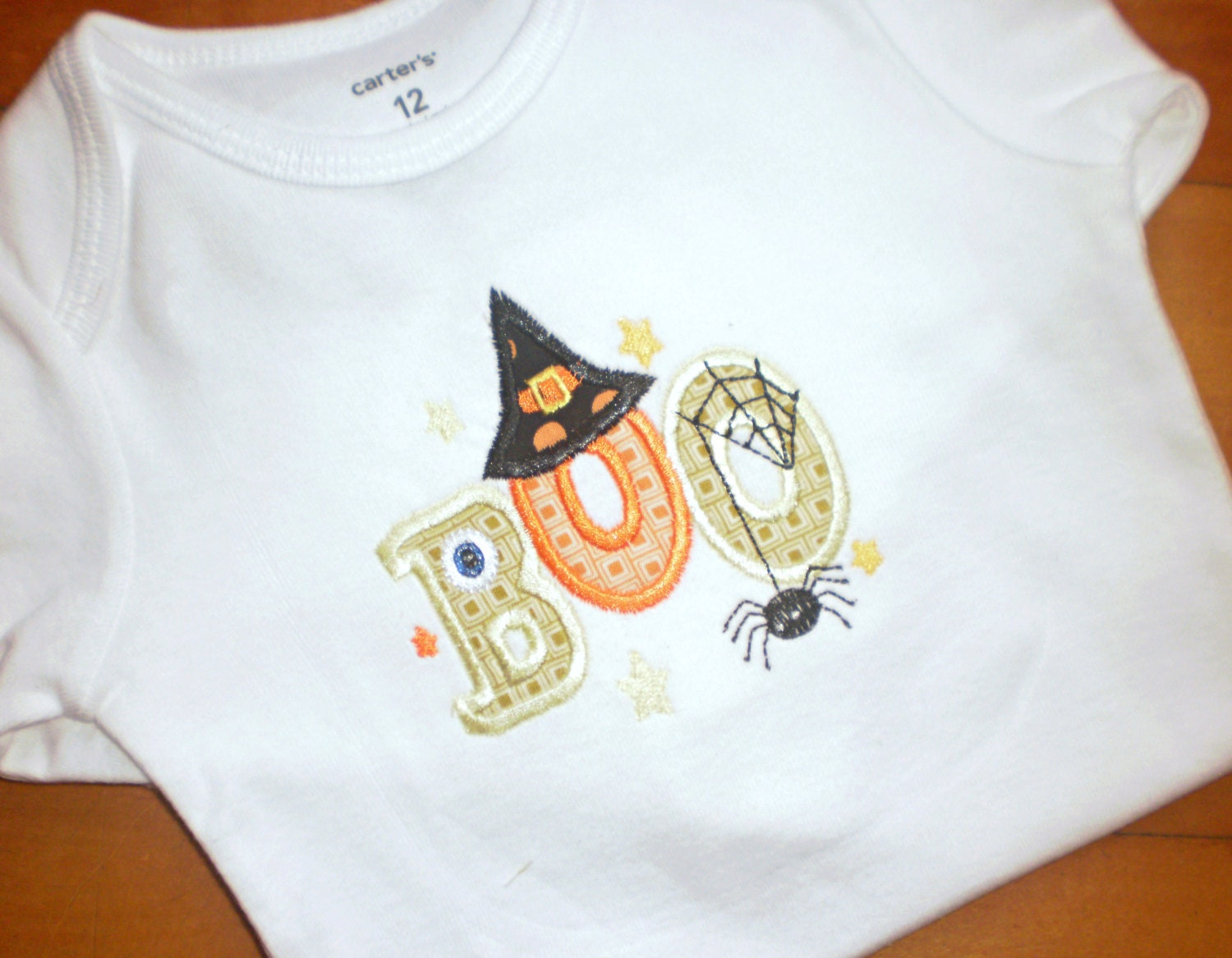 Halloween Bodysuit or Tee - SweatPeaStitches