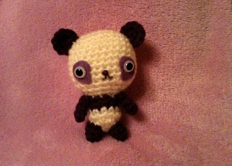 Amigurumi Baby Bear : Crochet Amigurumi Kawaii Panda Baby Bear by SugarPopCrochet