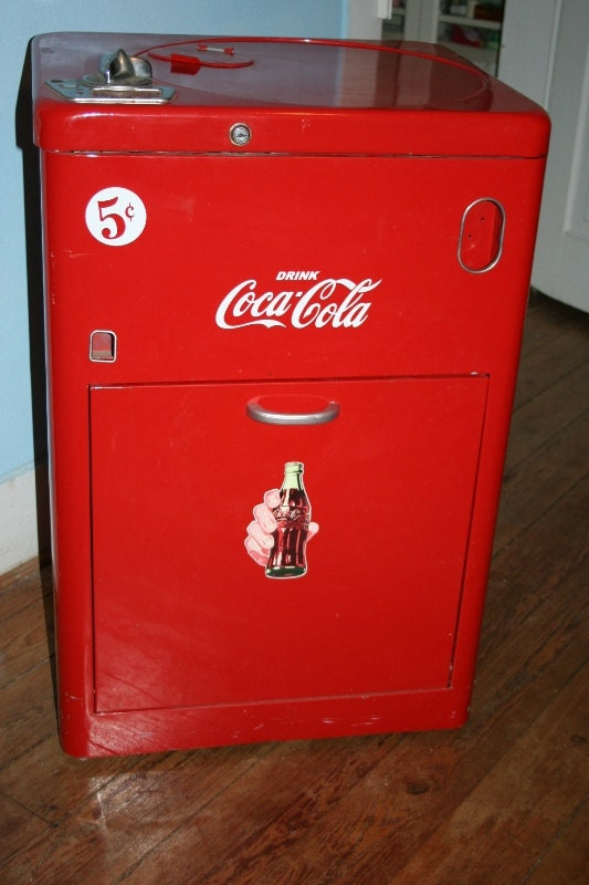 antique coke machine