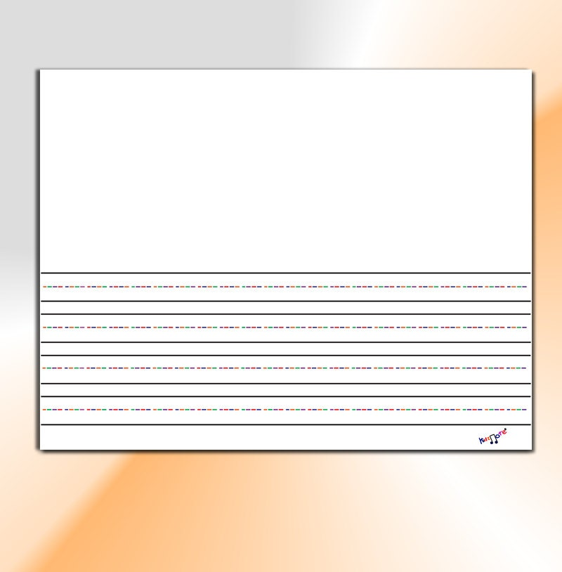 Primary Writing Paper - Story Paper for Kindergarten and Preschool ...