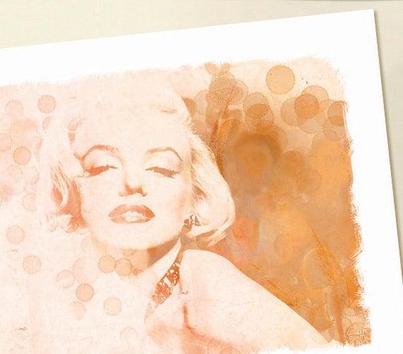 Marilyn Monroe, Print, 14x11 - EmbellishedKey