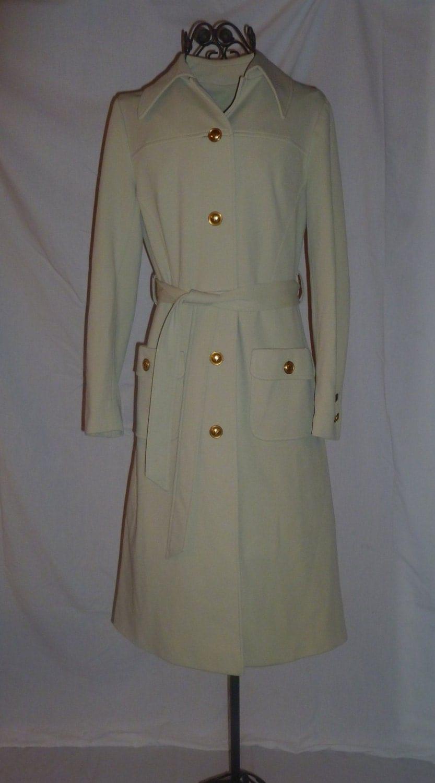 Cream Trench Coat Women