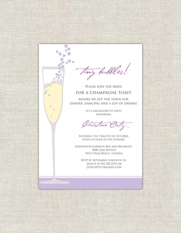 Champagne brunch wedding shower for the bride and groom in for Champagne brunch bridal shower