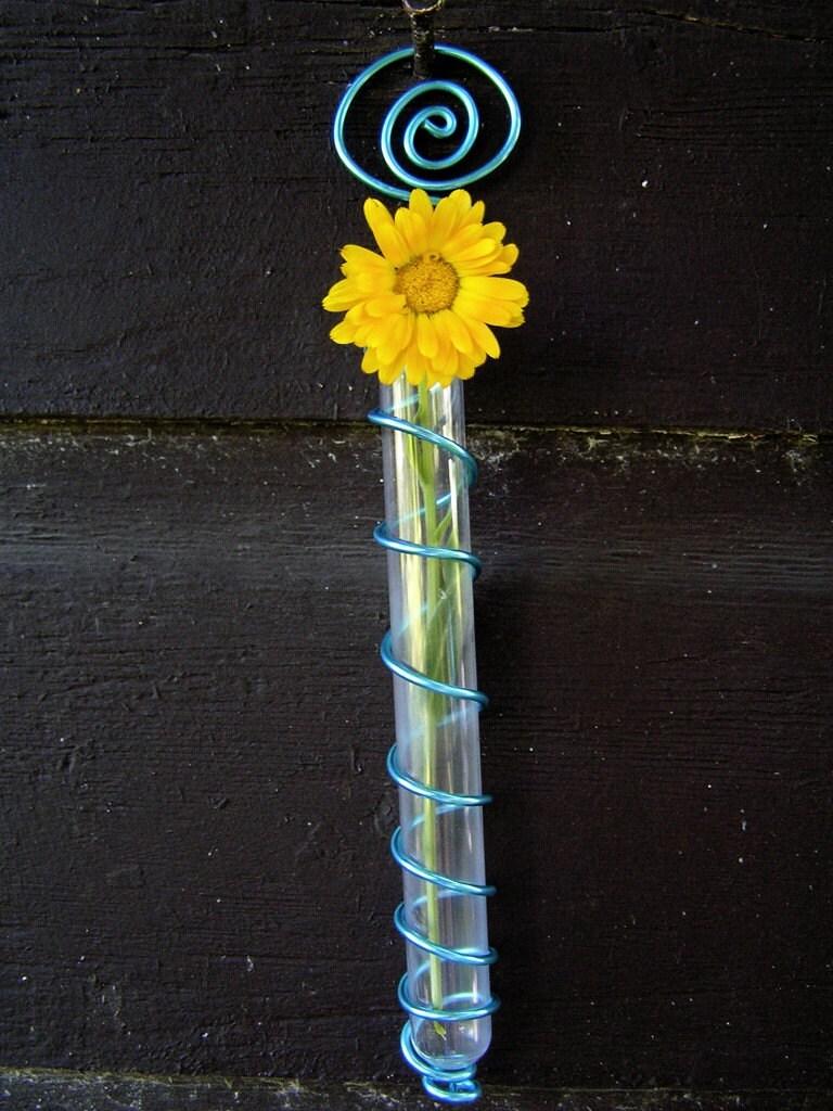 Test tube wall vase testtube for Test tube flower vase rack