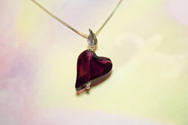 Swarovski Amethyst Crystal - HawaiiPearlDesigns