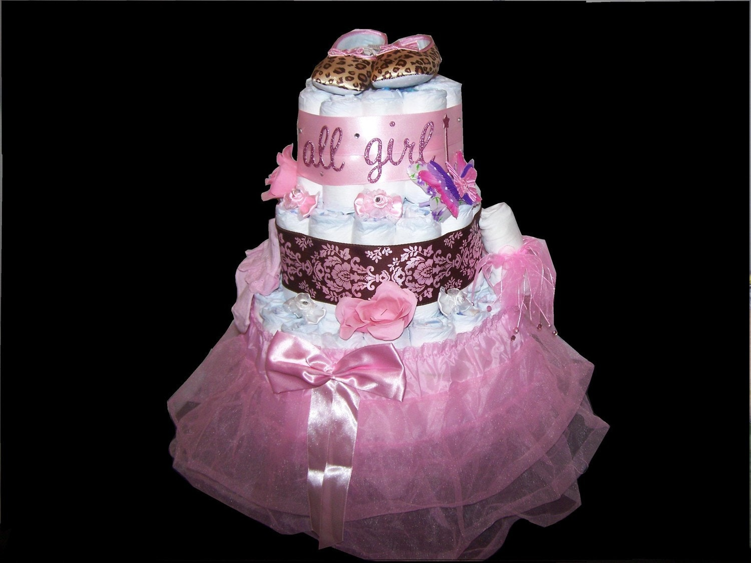 pin ballerina diaper cake special occasions baby shower cakes cake on