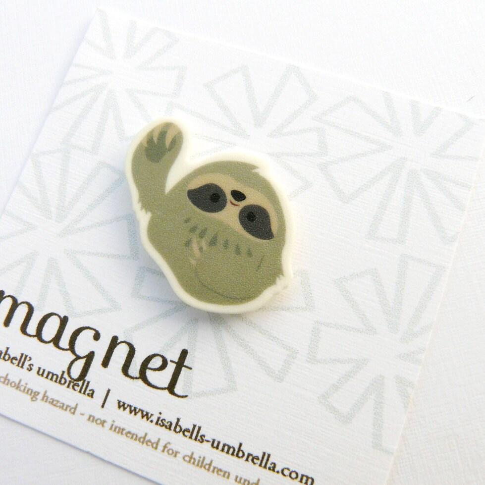 Magnet : Sloth - isabellsumbrella