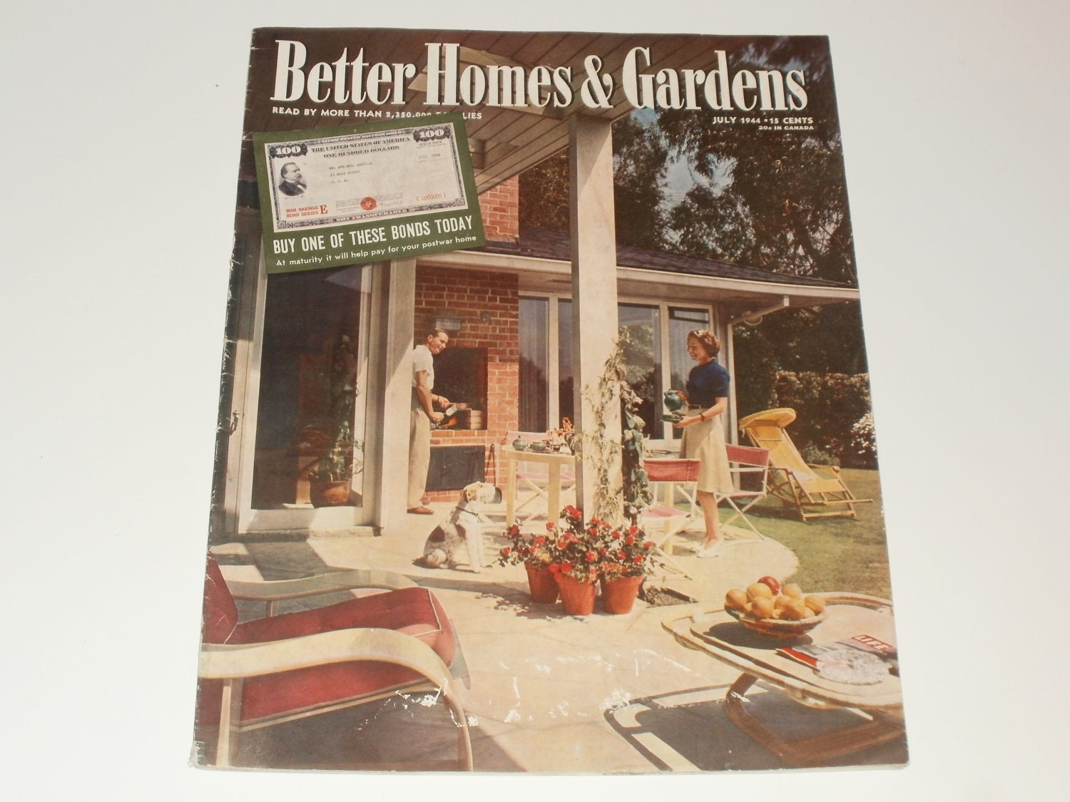 Vintage Better Homes And Gardens Magazine July By Kennyscrafts