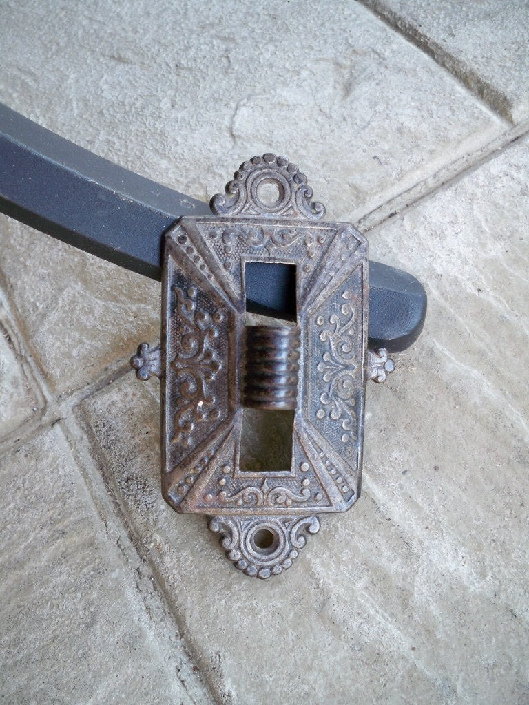 Wall Bracket Lamp Definition : Antique Oil Lamp Wall Bracket Victorian Cast by VintageGeneration