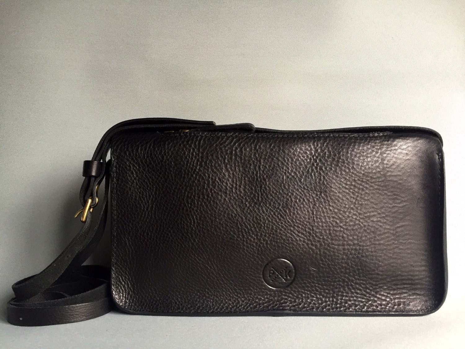 Small black leather handbag black cross body bag black shoulder bag black handbag small black purse gift for her leather purse