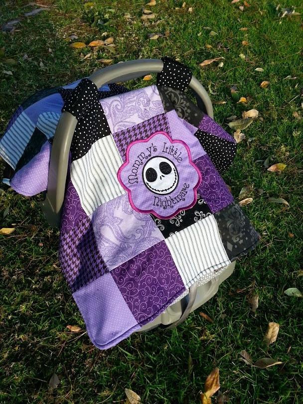 Jack Skellington Baby Car Seat