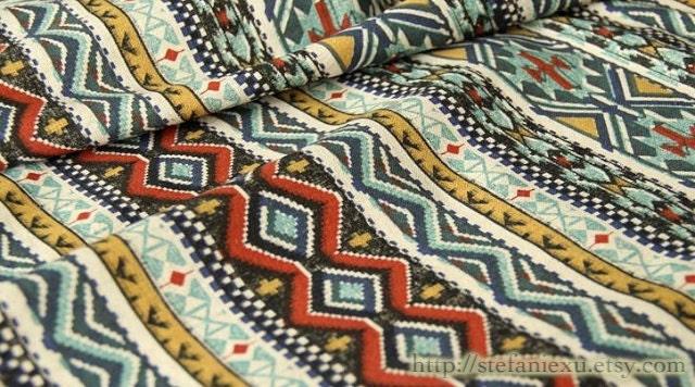 Home Decor Retro Aztec Style Nordic Aztec Stripe Indian Motif Pattern