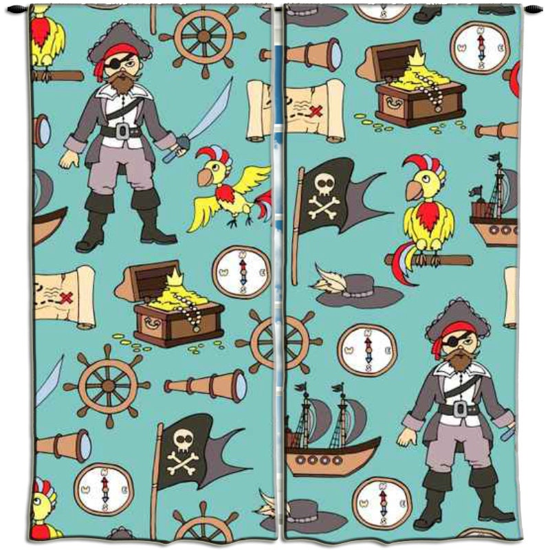 Kids pirate background