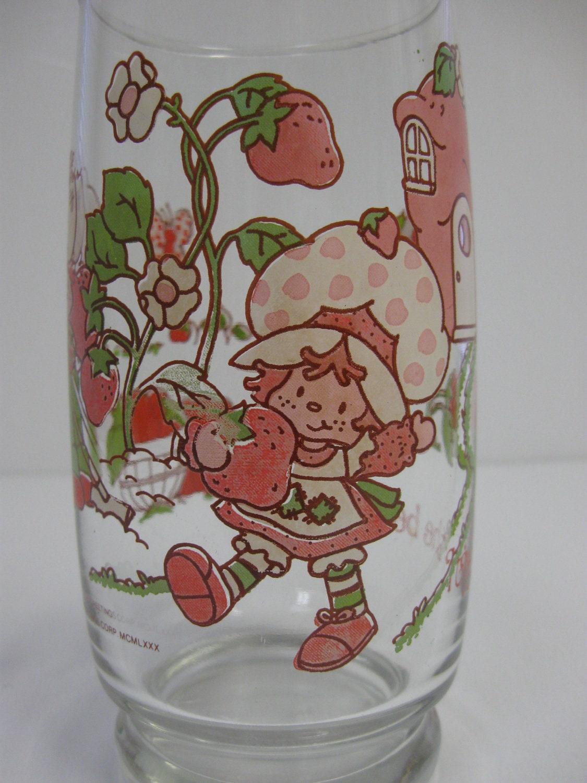 Strawberry Shortcake Drinking Glasses