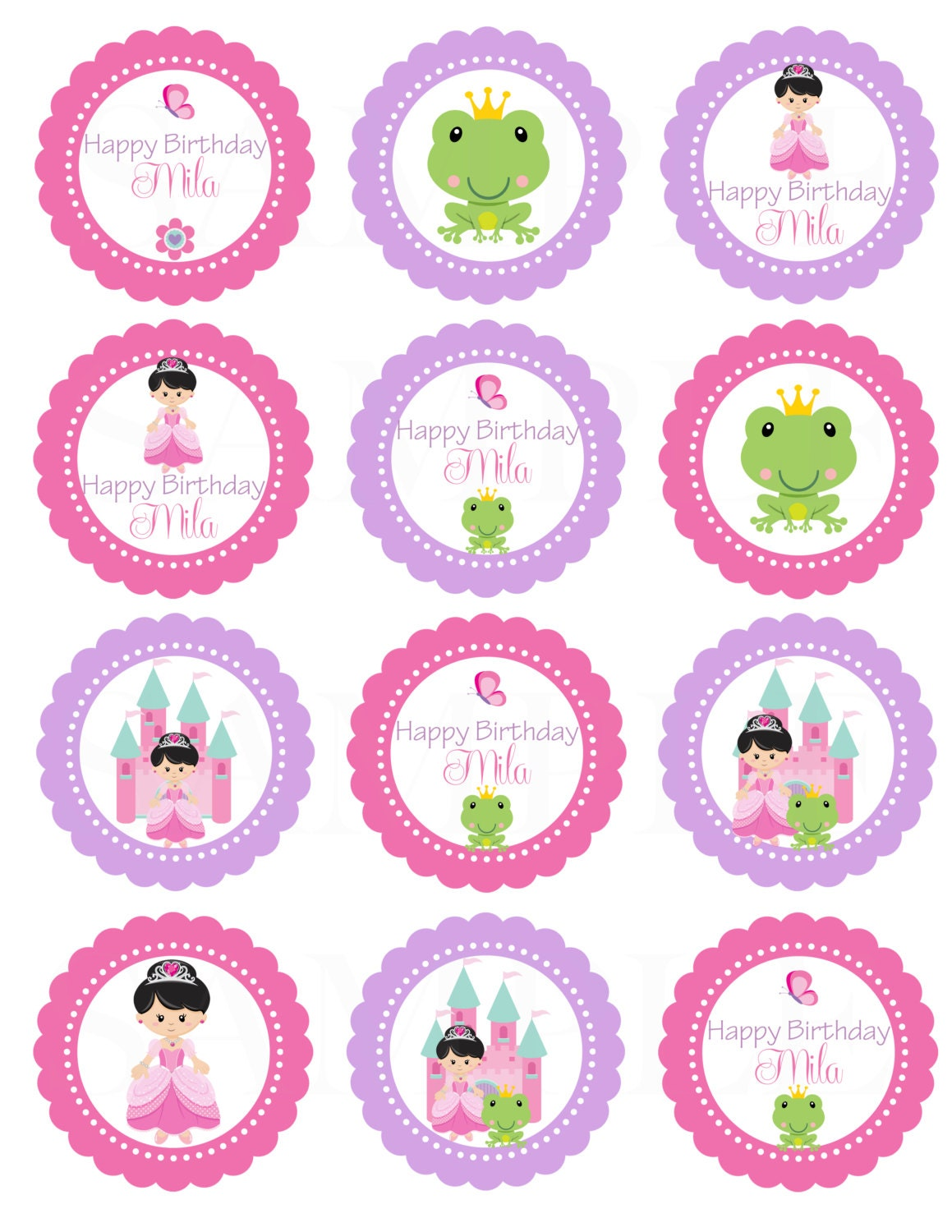 Items Similar To The Princess And Frog Birthday Theme