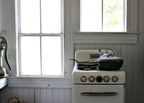 Portsmouth Island Kitchen 5x7 Photograph - MagicIsland