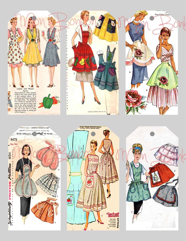 Digital Collage... Journaling Cards Downloads