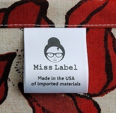 Clothing Labels 100 Satin Custom Printed Fast By Misslabel