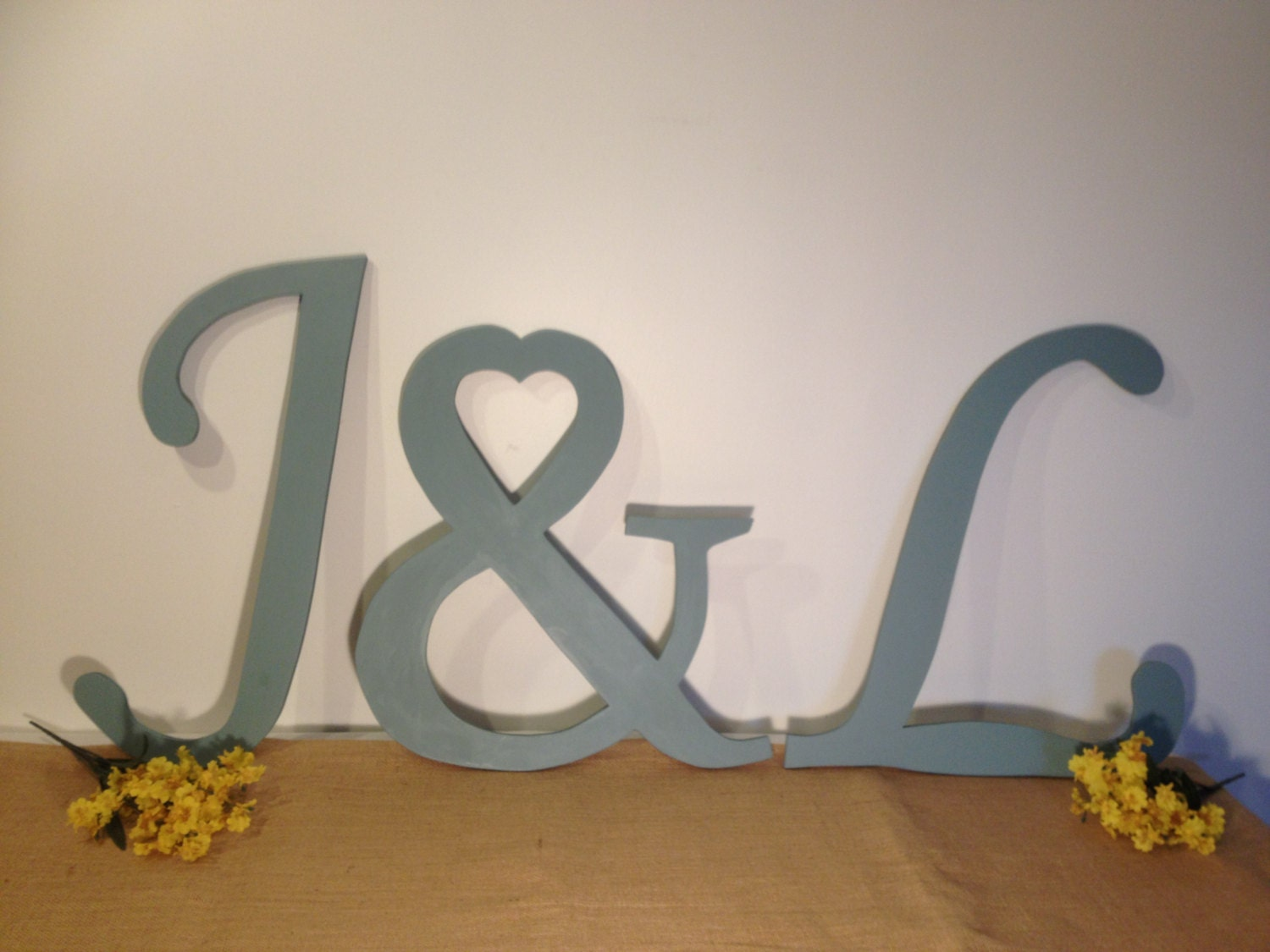 Large wooden letter set decorative wall by thedreamweddingshop - Decorative wooden letters for walls ...