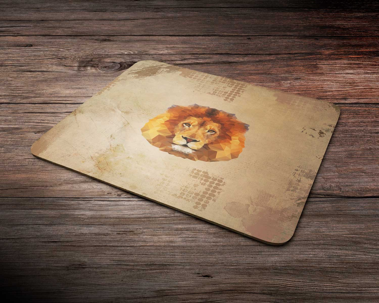Lion  mouse pad mouse mat comptuer mouse pad desk accessory office accessory desk gift rectangle