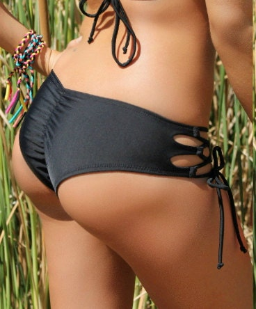 Bikini black butt two