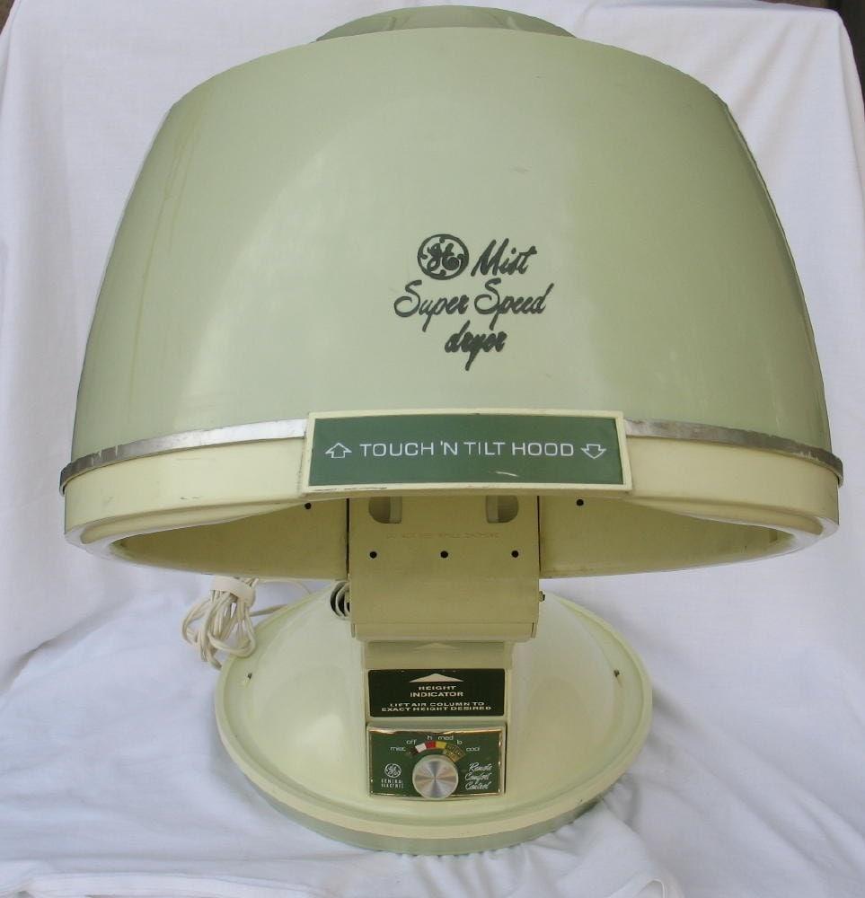 Vintage Speed Dryer GE Hair Dryer