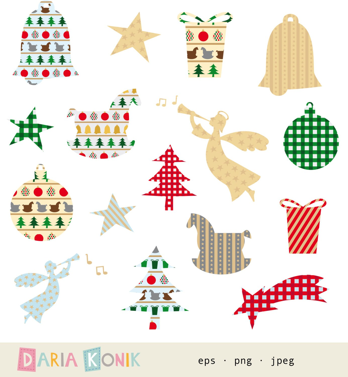 Christmas Rocking Horse Clipart Images & Pictures - Becuo