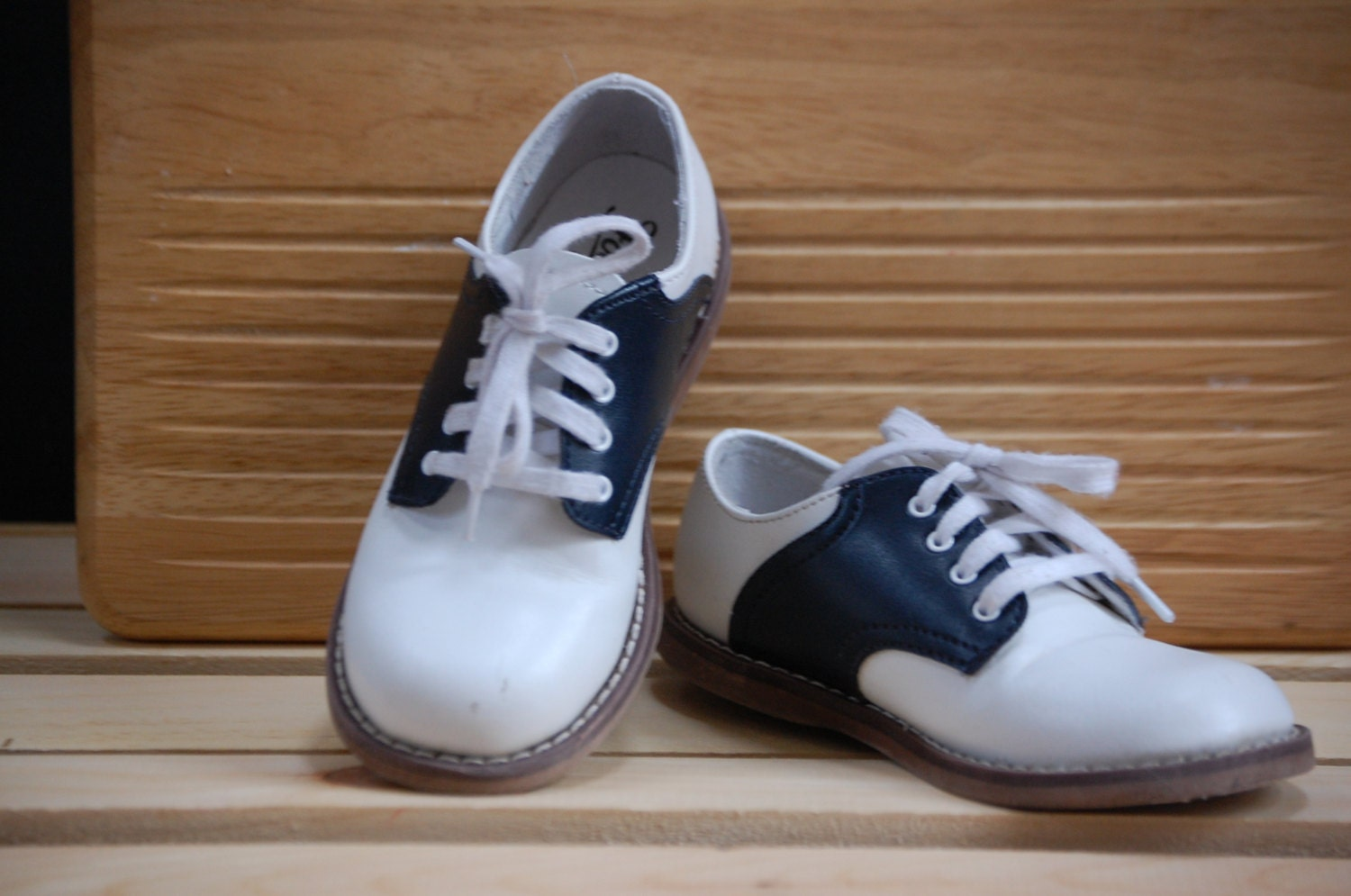 Black And White Saddle Shoes For Boys