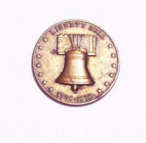 Vintage Liberty Bell Bicentennial Token By Inheritedtraits