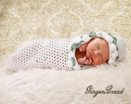 Free Crochet Pattern For Preemie Cocoon : Preemie Cocoon Crochet Pattern Worsted Weight by ...