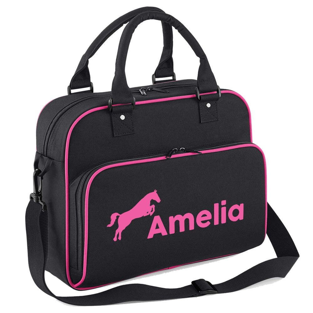 iClobber Personalised Horse Riding Bag  Your Name or Text DB