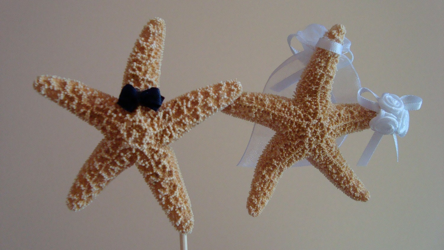Https Www Etsy Com Listing  Beach Wedding Cake Topper Starfish Cake Ref