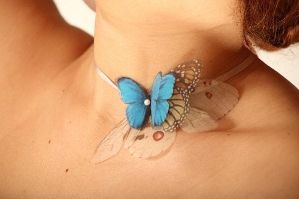 Бабочки все более ожерелье или браслет повязка или нескольких аксессуаров Цель
