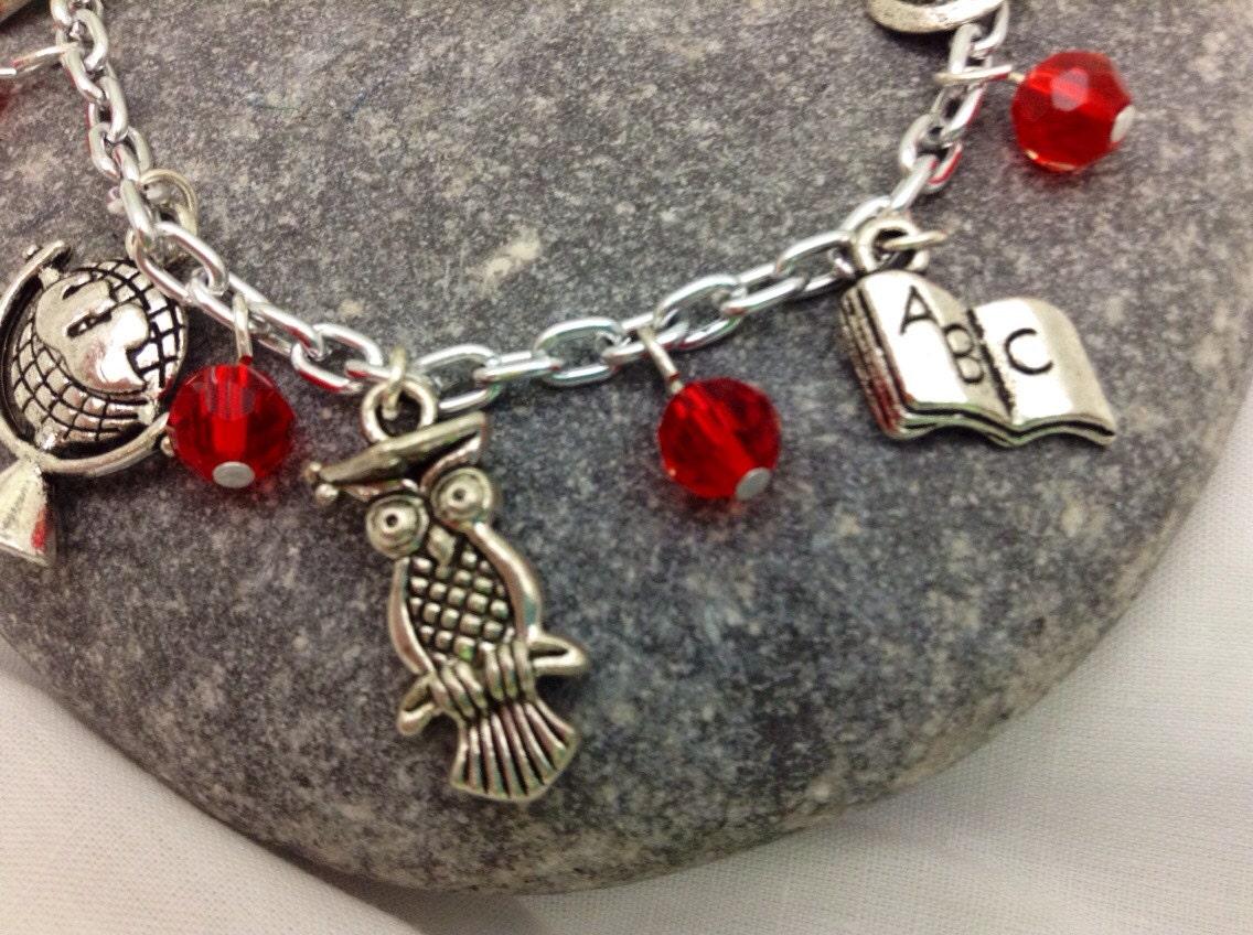 Charm Bracelet - Teaching Themed Charms