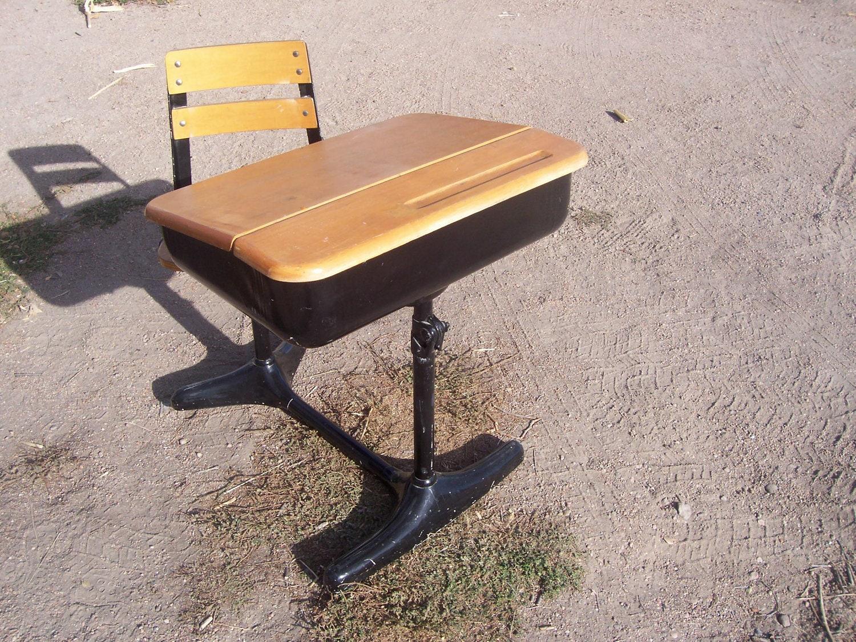 antique childs school desk by vintagechesters on etsy. Black Bedroom Furniture Sets. Home Design Ideas