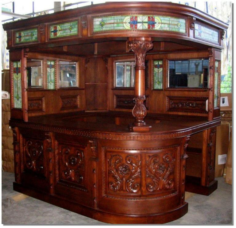 Handmade Victorian Reproduction Corner Bar Canopy By Thekingsbay