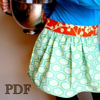 Patio Party: Groovy Hostess Apron | Sew4Home