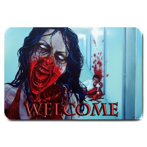 RW2 Zombie Welcome Mat