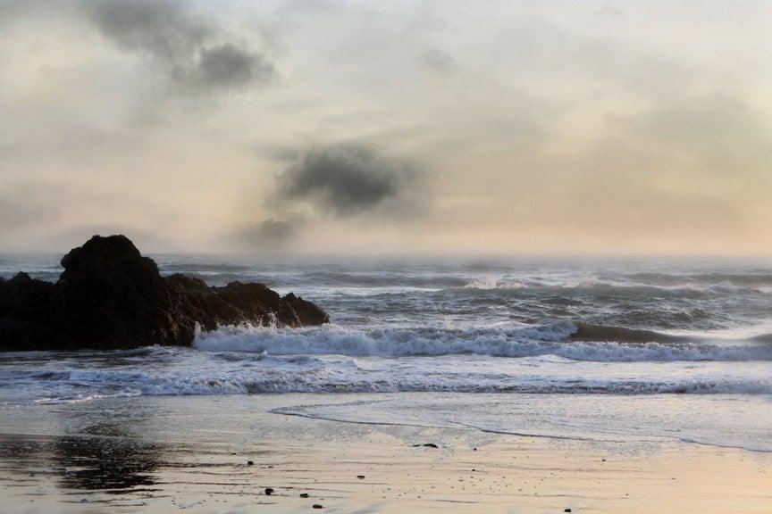 Landscape Seascape California Coast Landscape Photography  inch Photograph - lucysnowephotography